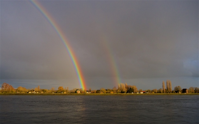 Evening rainbow 1