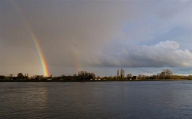 Evening rainbow 2