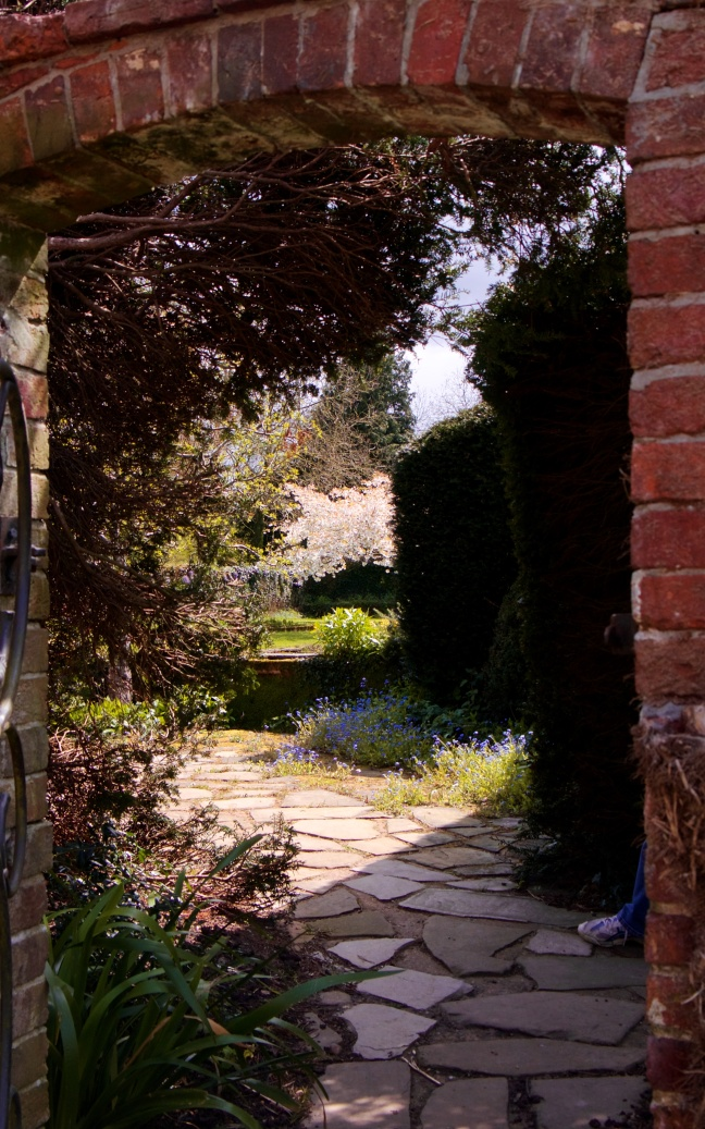 The gate to the garden