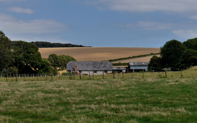 Downland flint farmhouse