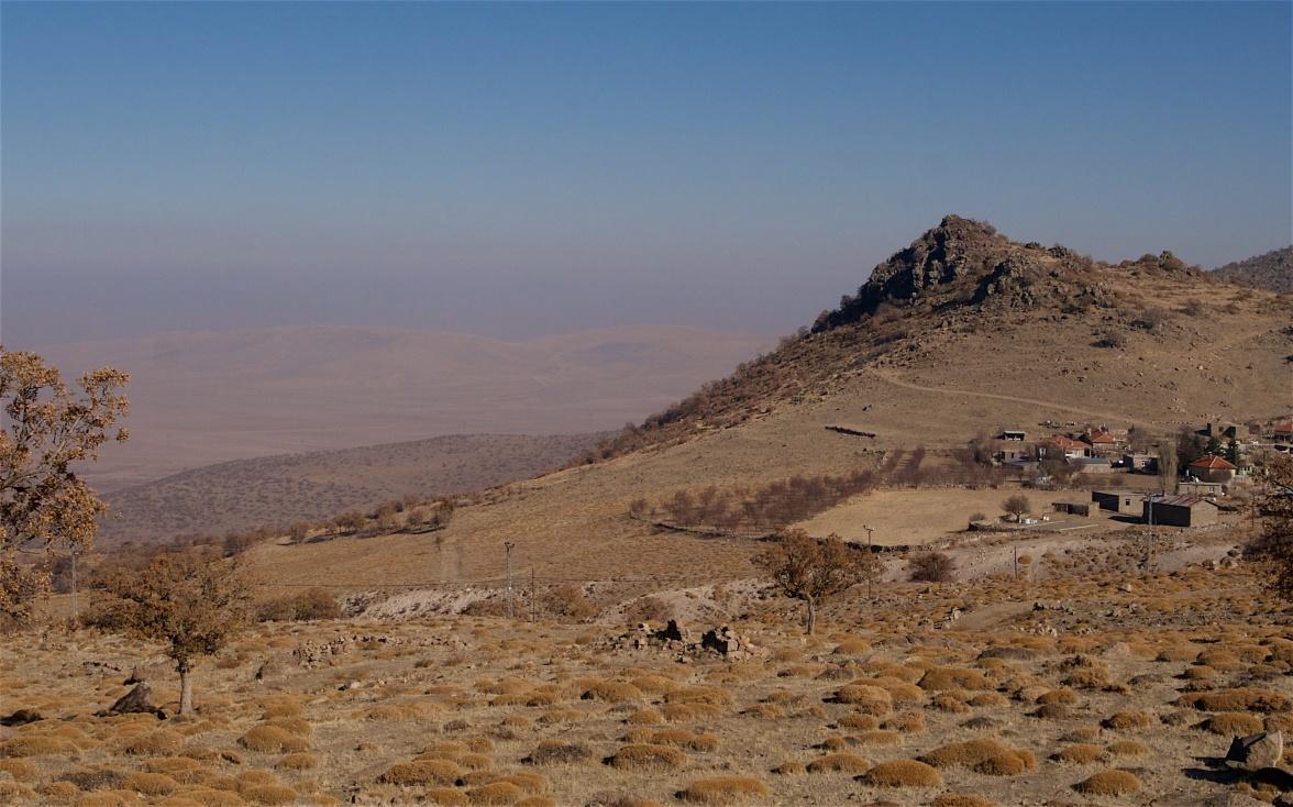 The village of Üçkuyu