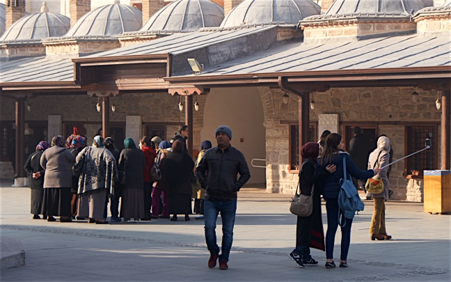 Turkey is both traditional and modern
