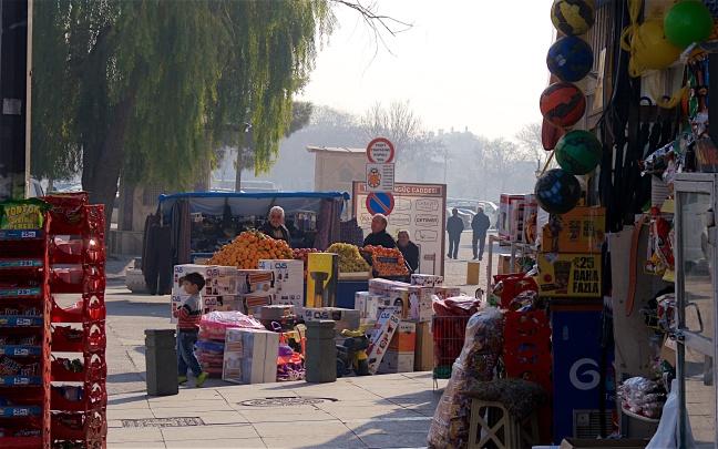Street scene in Konya
