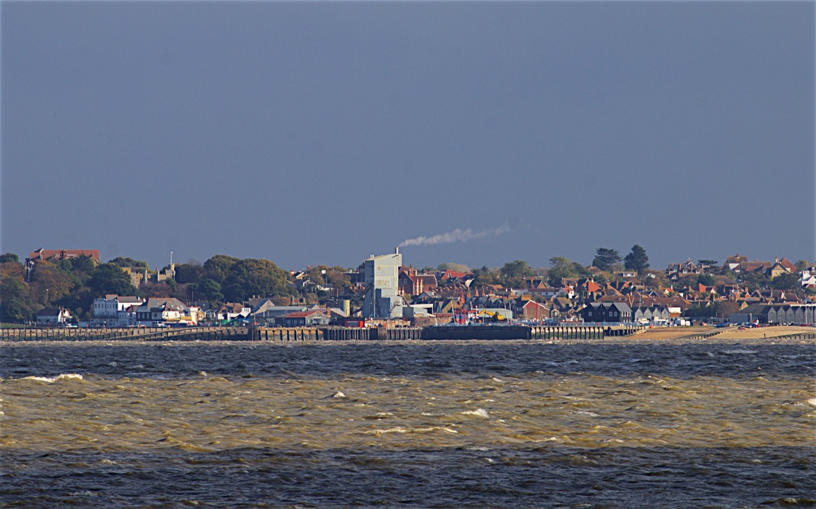 Whitstable across the Swale