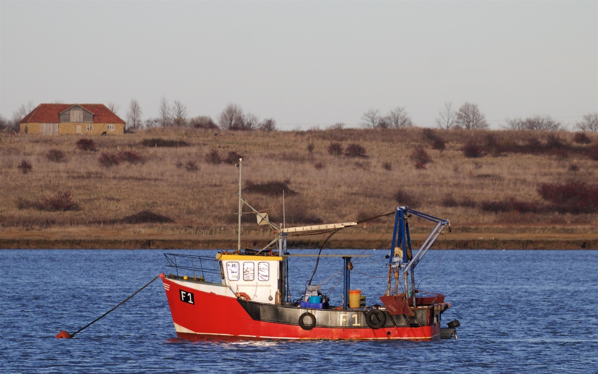 Fishing boat on the Swale