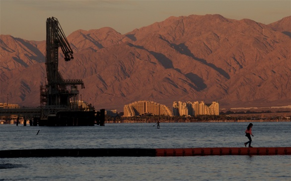 Eilat is an uneasy mix of tourism and trade