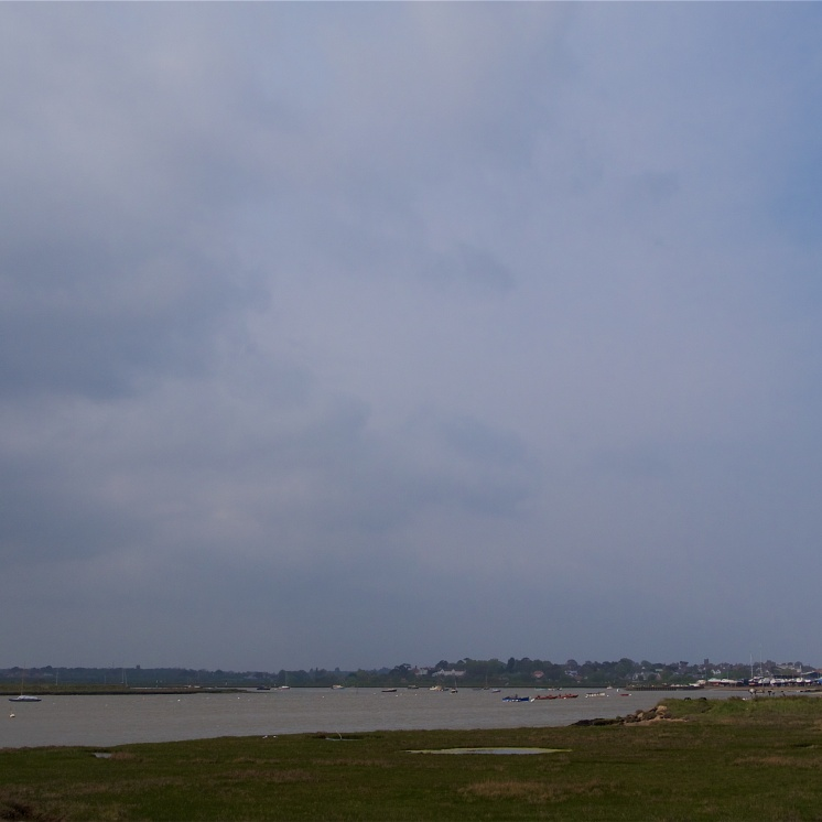 Aldeburgh - the view from the Martello Tower