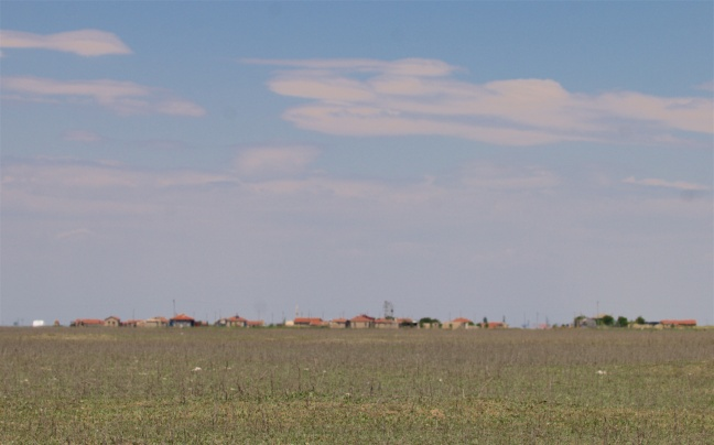Another steppe village