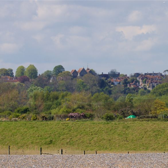 Winchelsea from Winchelsea Beach