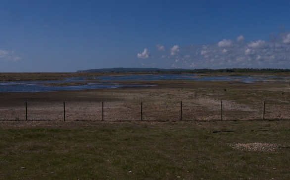 Rye Harbour at the River Rother end
