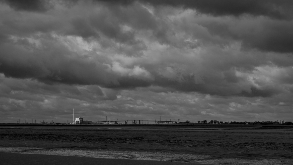 Bridge over the Swale estuary to the Isle of Sheppey