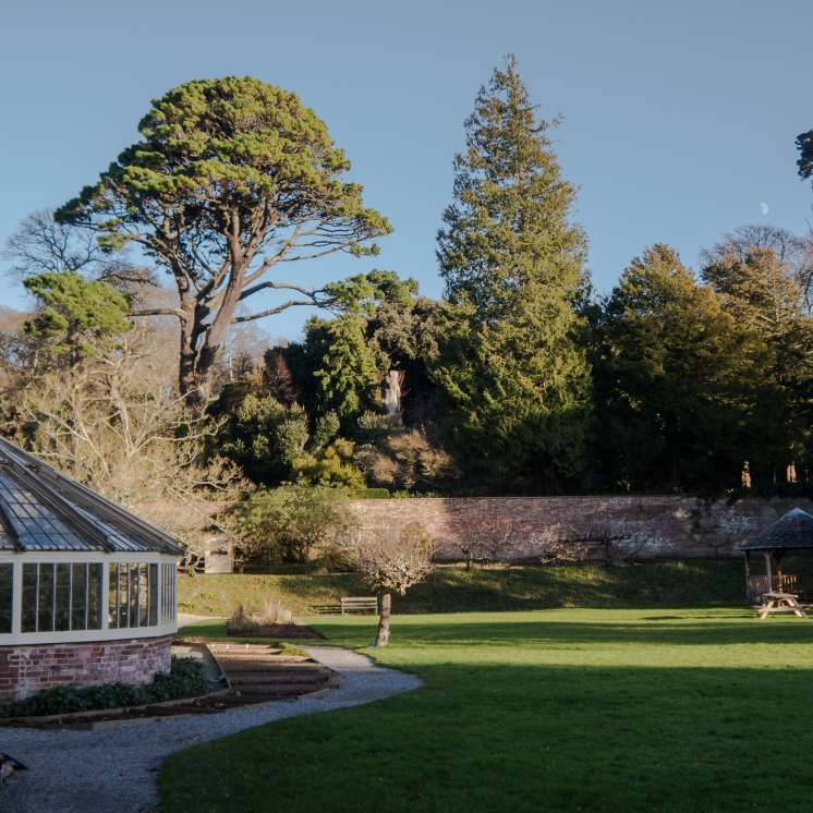 Walled garden at Greenway