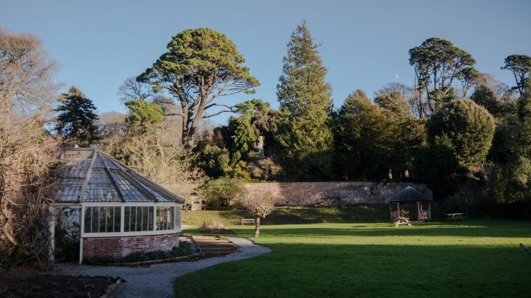 Walled garden at Greenway