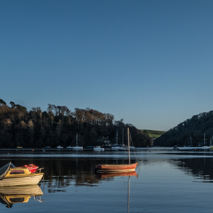 Dart Estuary on a still evening