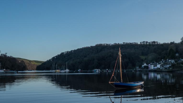 Dart estuary at Dittisham