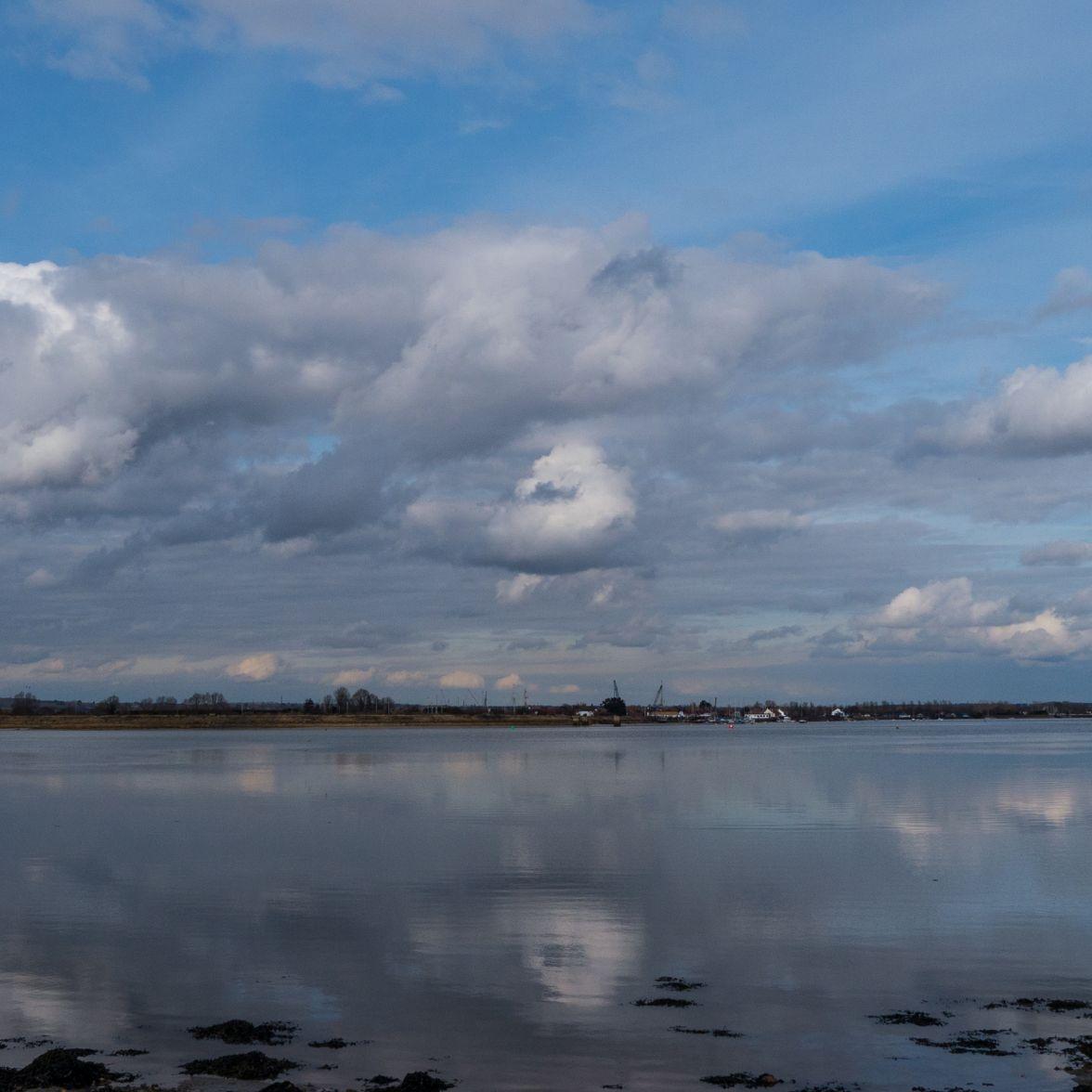 Blackwater estuary on a Spring tide
