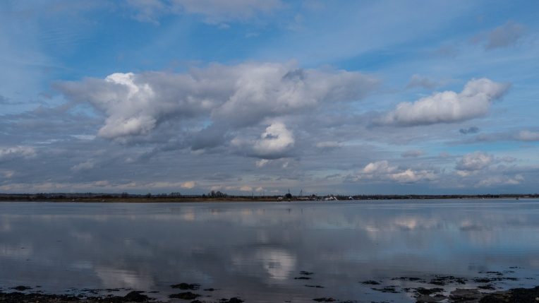Blackwater estuary on a Spring tide
