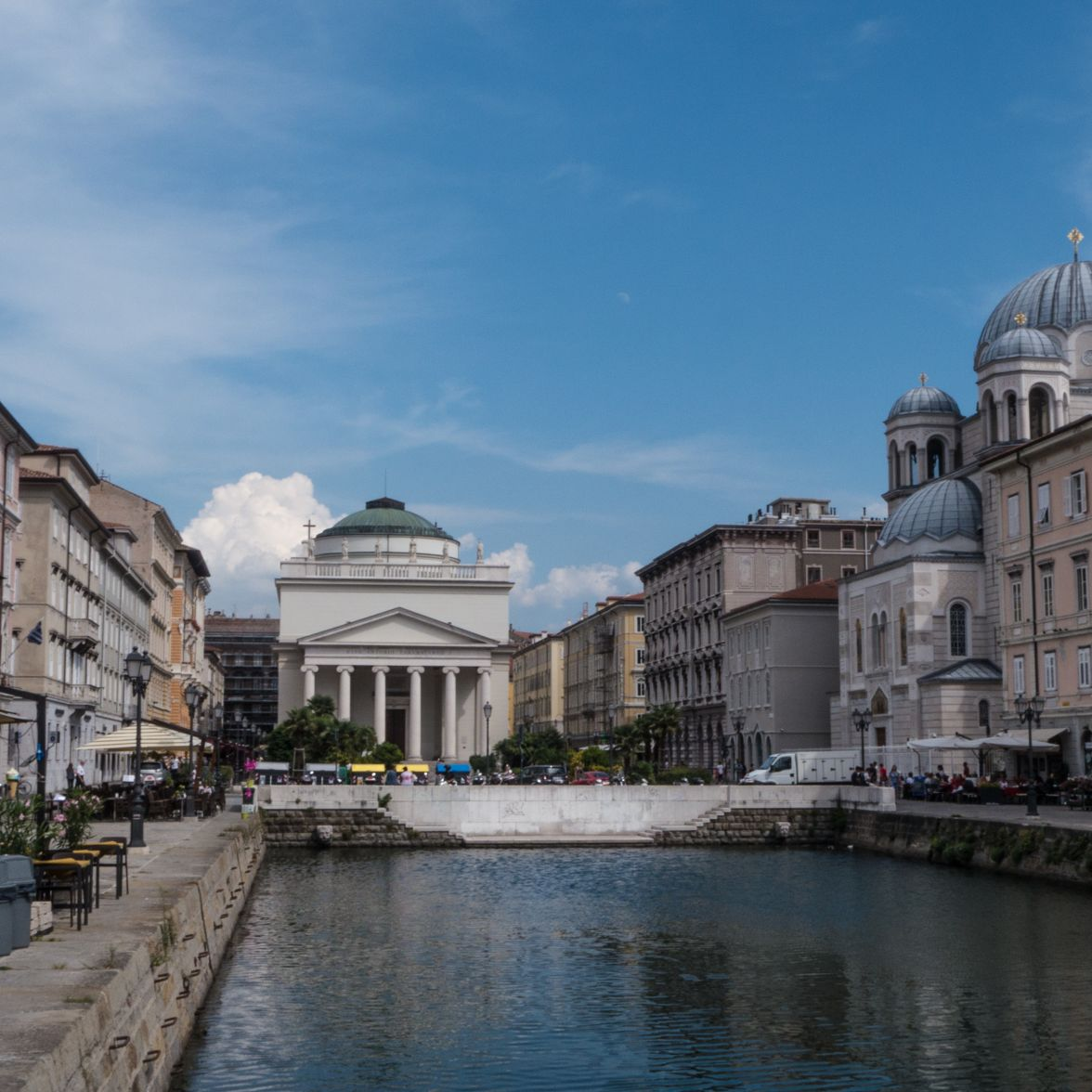 Trieste in north east Italy and coastal Slovenia are both on the northern edge of the Istrian peninsula